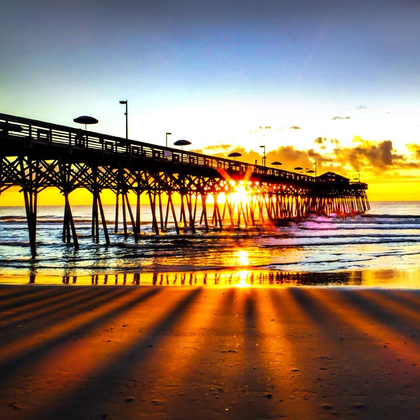 Free photo: Myrtle beach grand strand - Beach