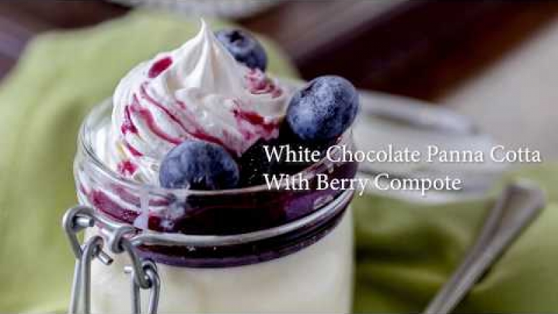 Embedded thumbnail for How to Make White Chocolate Panna Cotta