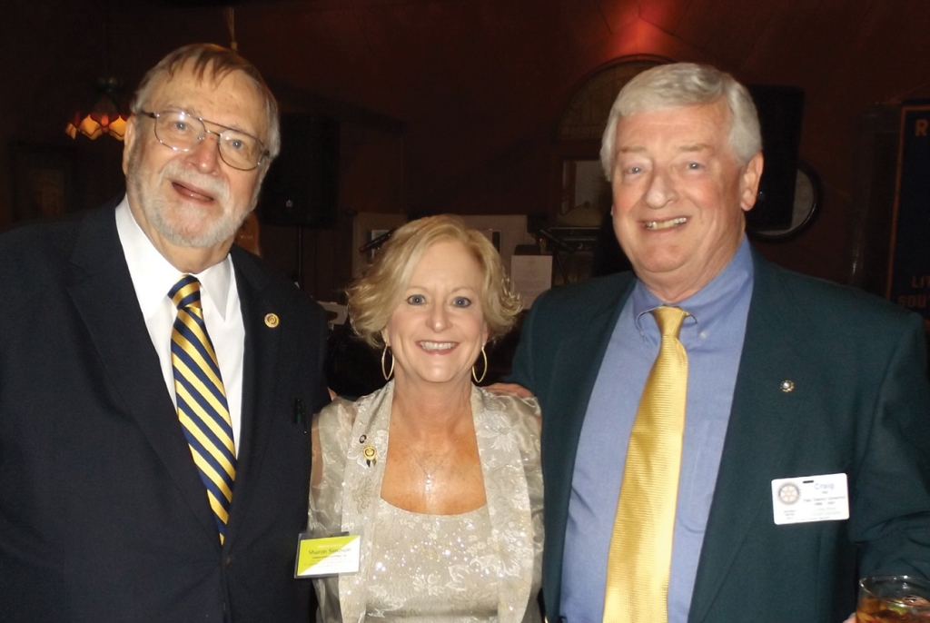 Craig Hill, Sharon Simpson and D.G. Schumacher