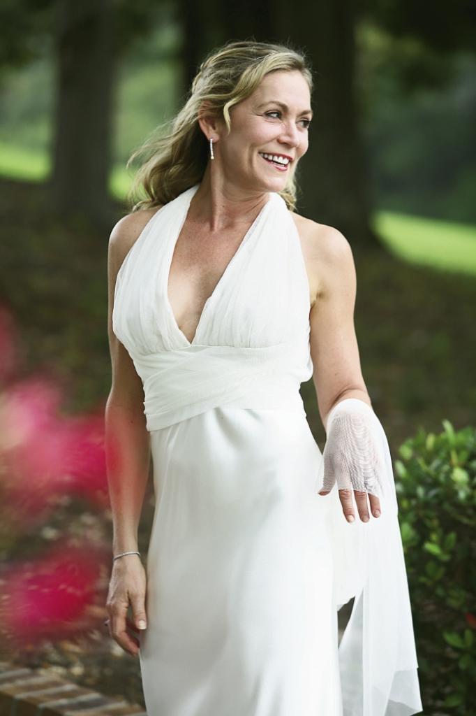 The Bride: Anita Floyd Lee