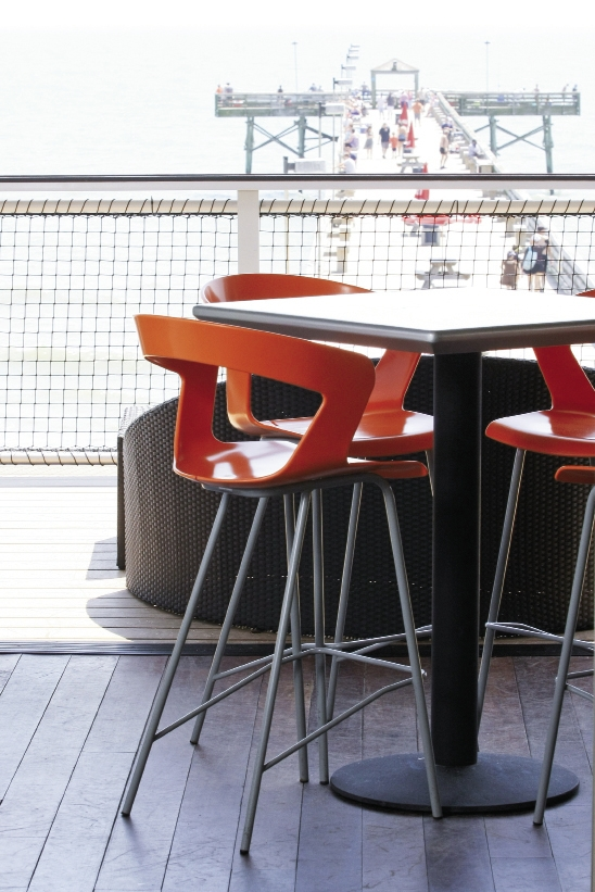 After major renovations, the Pier House Restaurant at the 2nd Avenue Pier offers drinks and dining inside and out.