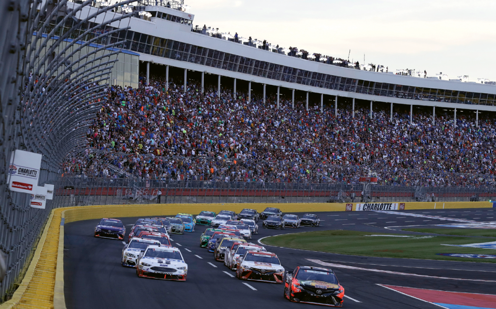 Track tours and short-track series racing are summer staples at Charlotte Motor Speedway.