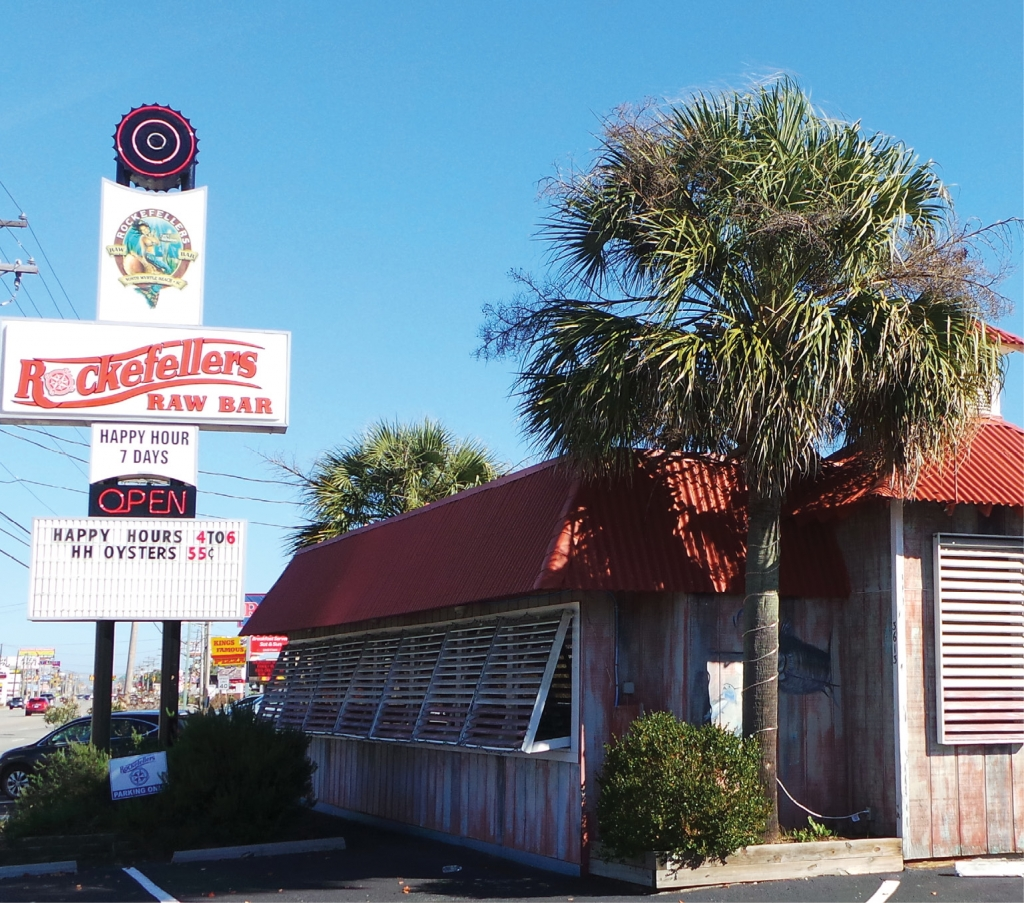 Rockefellers Raw Bar has been serving local seafood to patrons for more than 20 years.