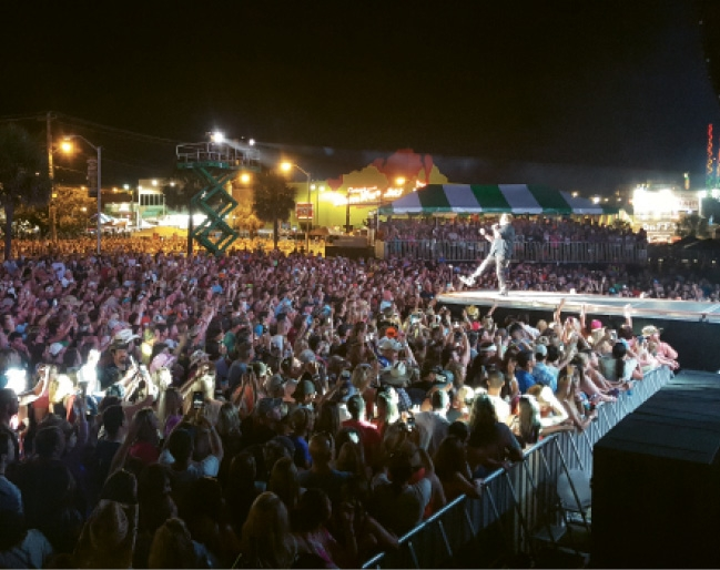 Bigger & Better: The overwhelming success of last year's inaugural Carolina Country Music Festival paved the way for an even bigger event this year.