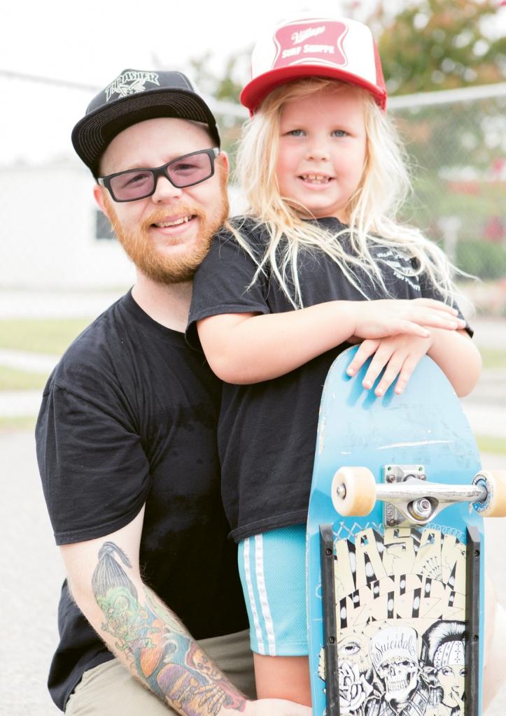Aaron and Rensley Wright