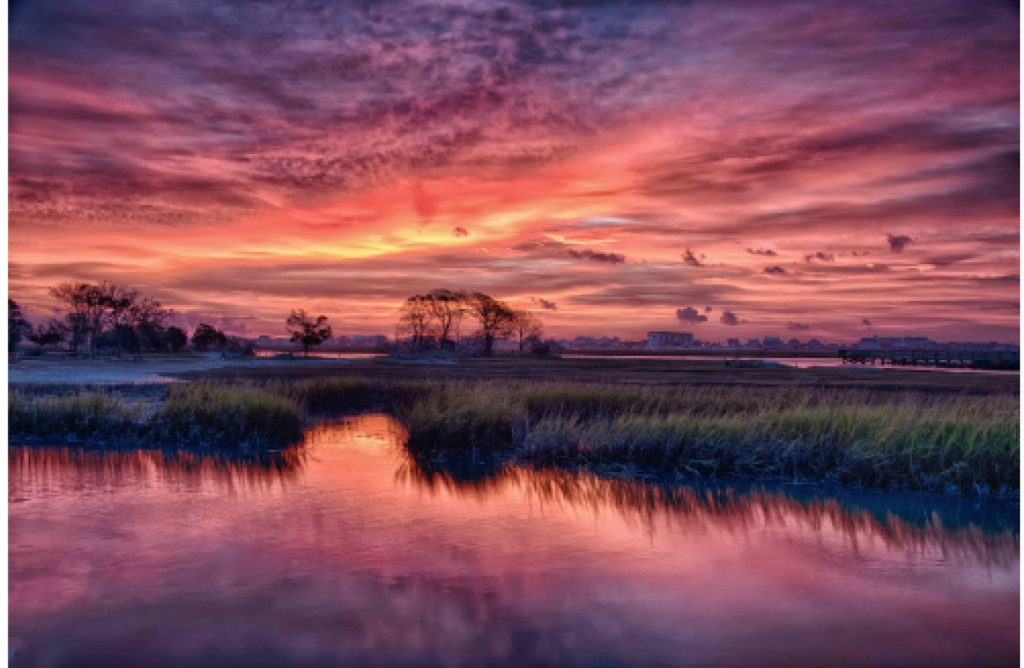 Inlet Sunrise Colors Jon Snyder  Murrells Inlet
