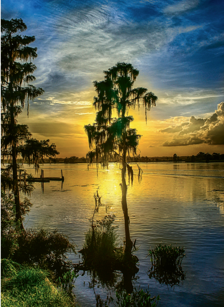 Intracoastal Sunset  Photographer: Ed Roberts  Where: South of Hagley Landing, Pawleys Island