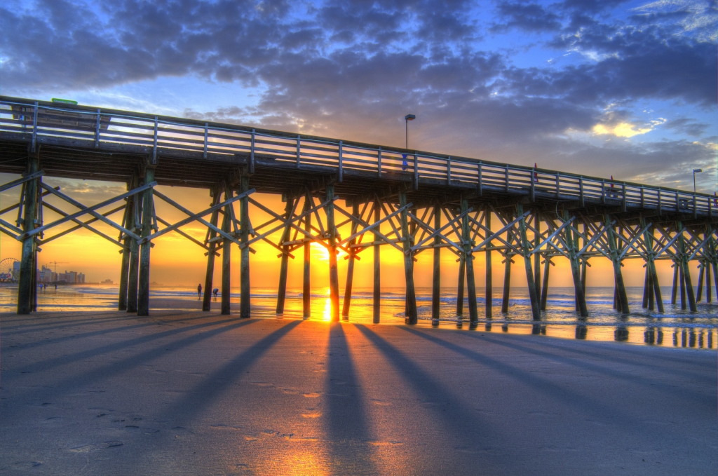 Sunrise at the Pier, Photographer: Terry Shoemaker, Where: Garden City