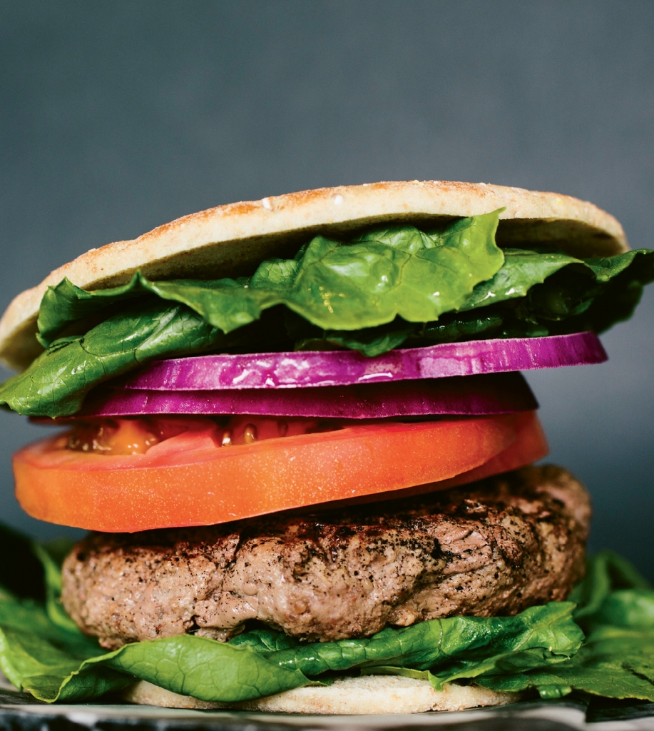 Clean Eatz offers burgers made from turkey, vegetables or even bison.