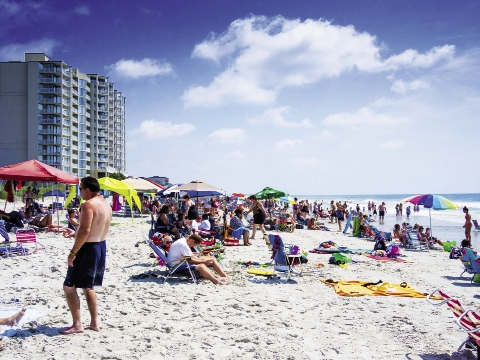Surfside Beach offers 36 beach accesses along its two miles of coastline.