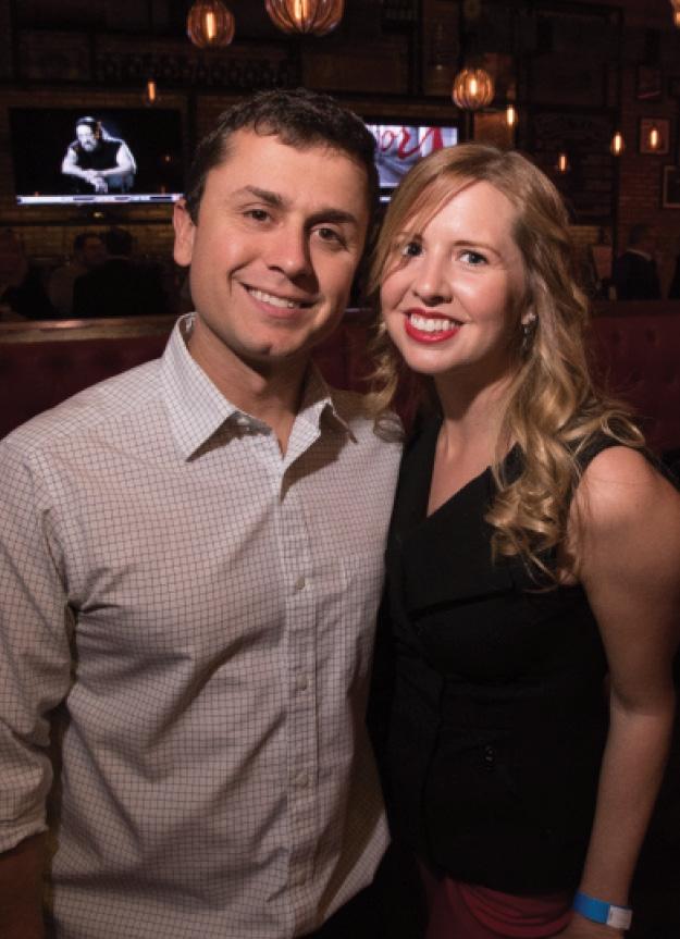 Curtis Thieman and Lindsay Maher