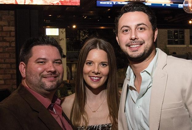 Erik Less, Caitlin Cunagin  and Ryan Roberts