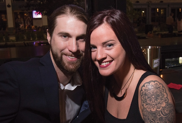 Jason Cooper and Holly Smith