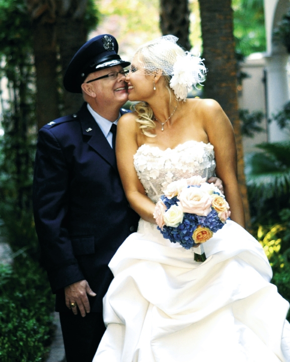 <p><br />Amy Case and Colonel Steven White, Sr. November 5, 2011</p>