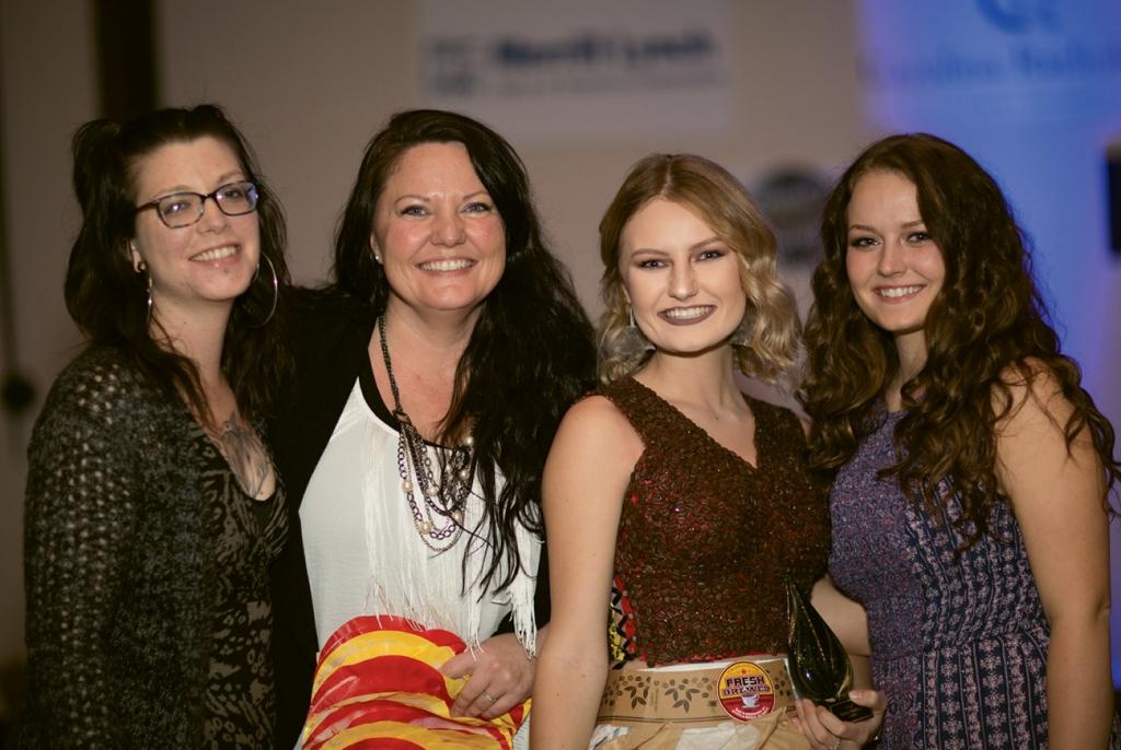 Abby Haight, Kate Curran, Kalayna Vandy and Katlyn Alarcon Vandy