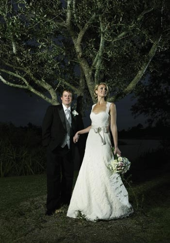 <p><br />Amanda Thomasson and Jason Himmelsbach, September 17, 2011</p>