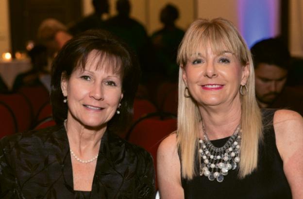 Arlene Smith and Gail Enslen