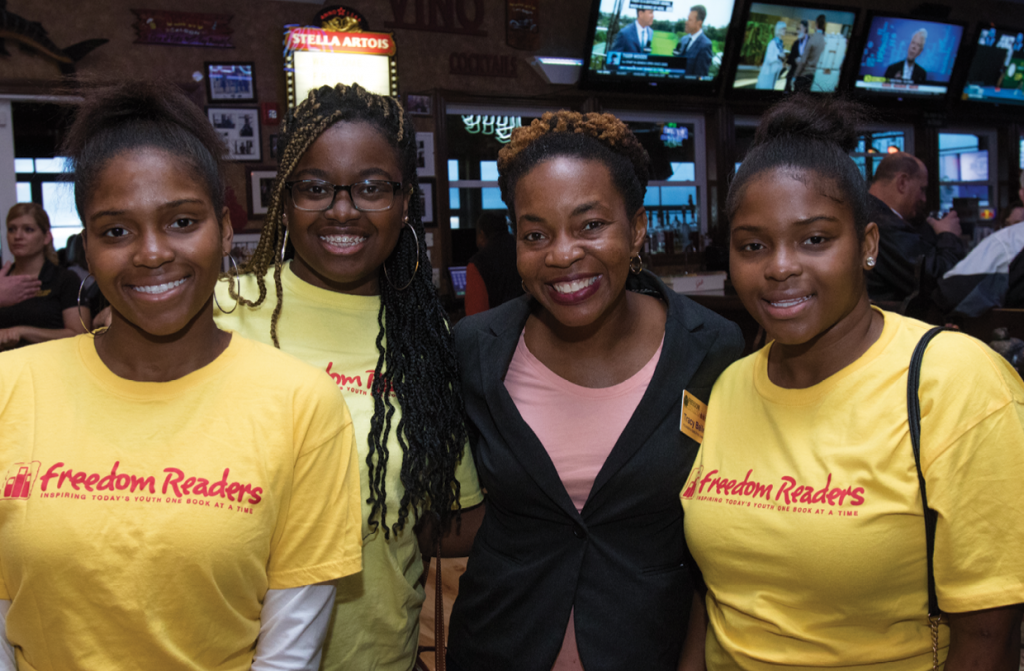 Dakaija Herman, Breanna Dennison,Tracy Bailey and Jakaija Herman