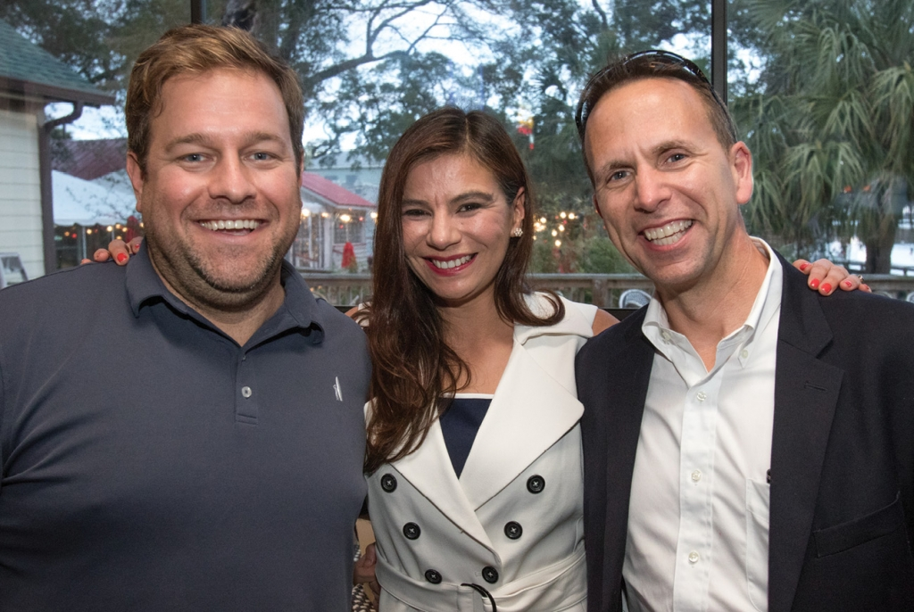 Jonathan Miller, Laura Becerra and Bratton Fennell