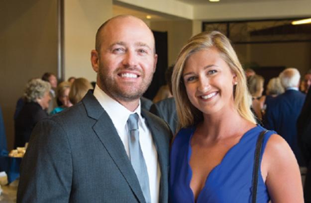 Aaron Lewis and Delanie Sage