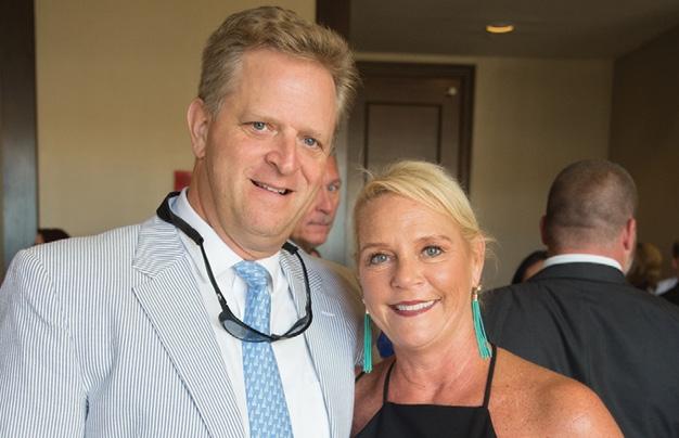 Brad Fludgate and Teri Edgar