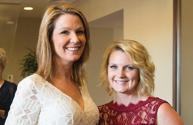 LeAnn and Jenn Gaskins