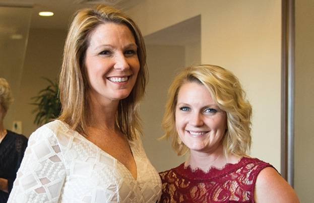 LeAnn and Jenn Gaskins
