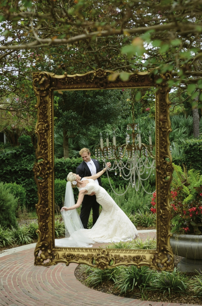 Marital Masterpiece: Bride Alison came to appreciate the big picture of her big day—not all the minor details.
