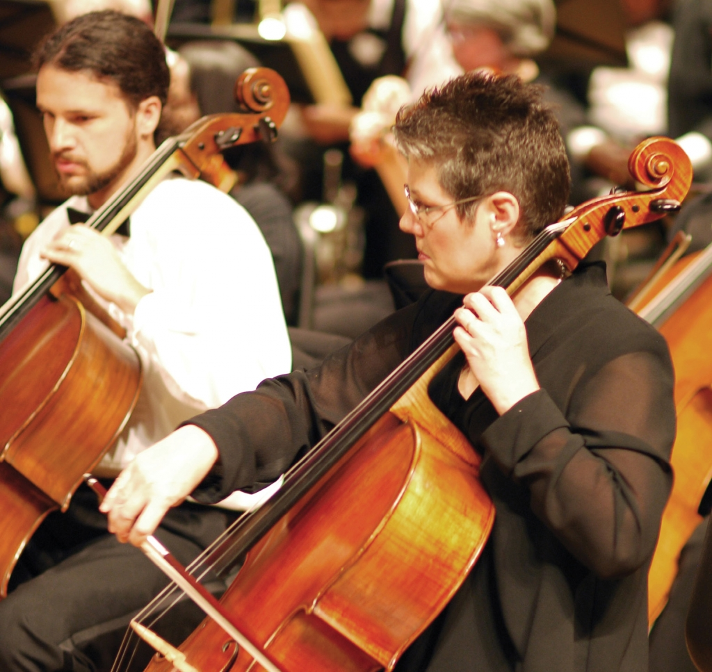 The Long Bay Symphony features area musicians, many of whom have advanced degrees in music and years of experience playing in symphonic orchestras.