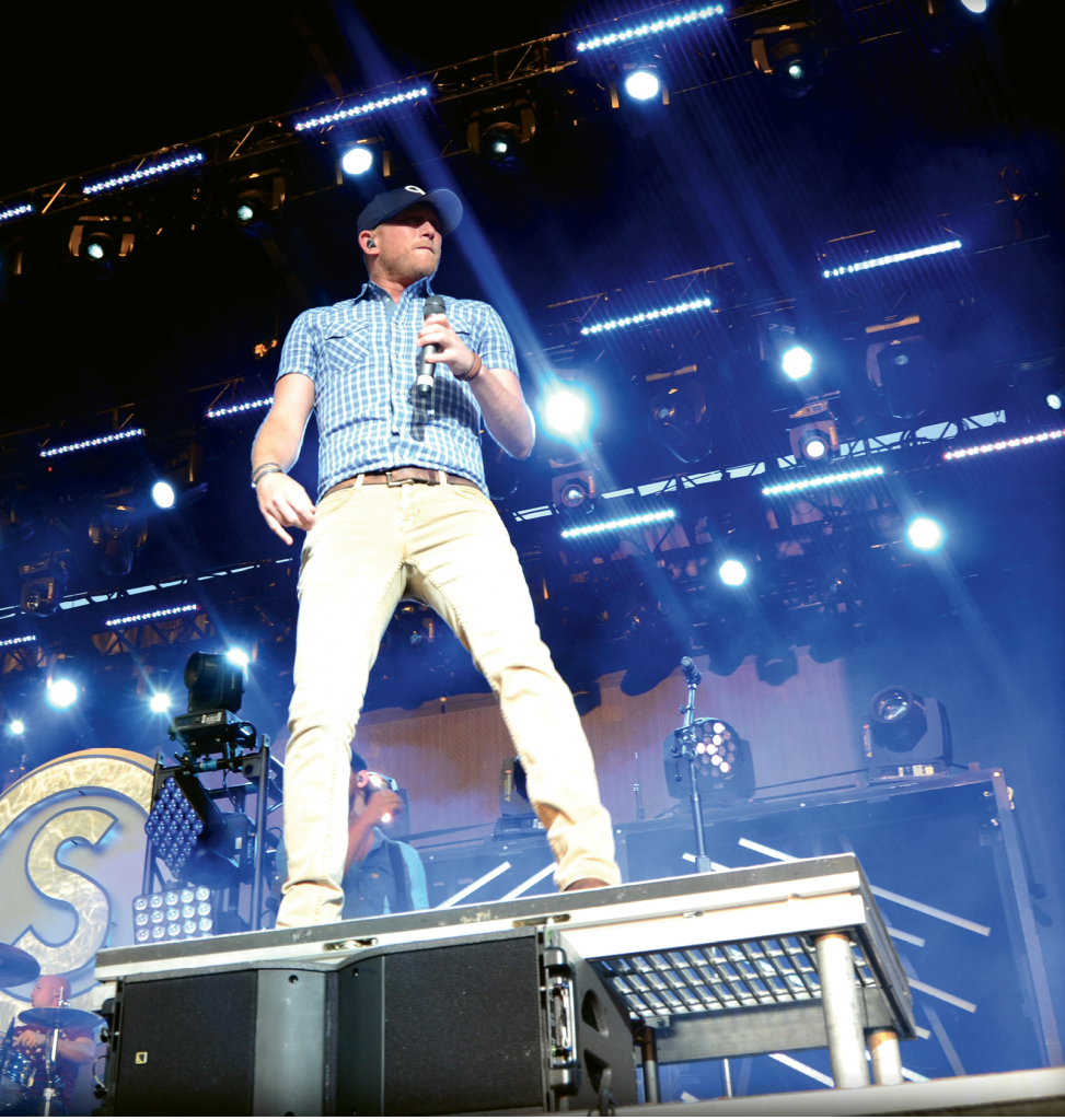 Welcome Back!: Singer/songwriter Cole Swindell returns for a second year to the Carolina Country Music Festival.