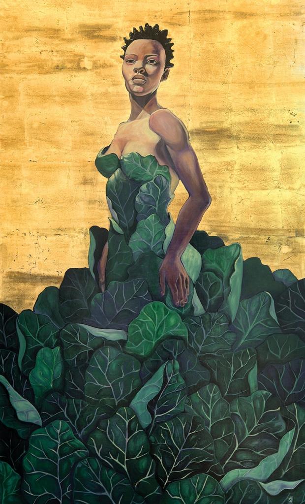 The Collard Queen by Natalie Daise.
