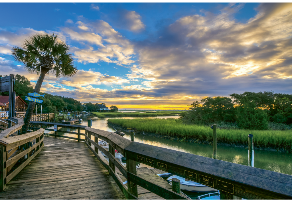 {READERS' CHOICE AWARD WINNER}  MARSHWALK STROLL   - Photographer: Matthew Trudeau  Where: Murrells Inlet MarshWalk