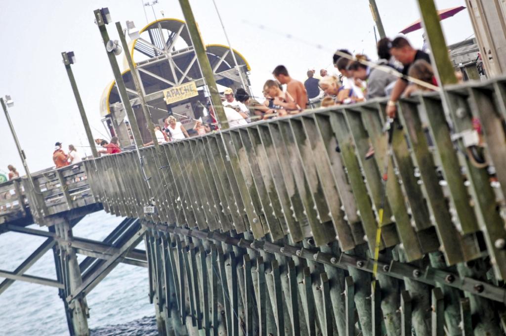 Pier Hopping