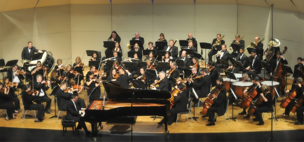 A Grand Strand cultural gem, The Long Bay Symphony performs one of its concerts in the Myrtle Beach High School Performing Arts Center.