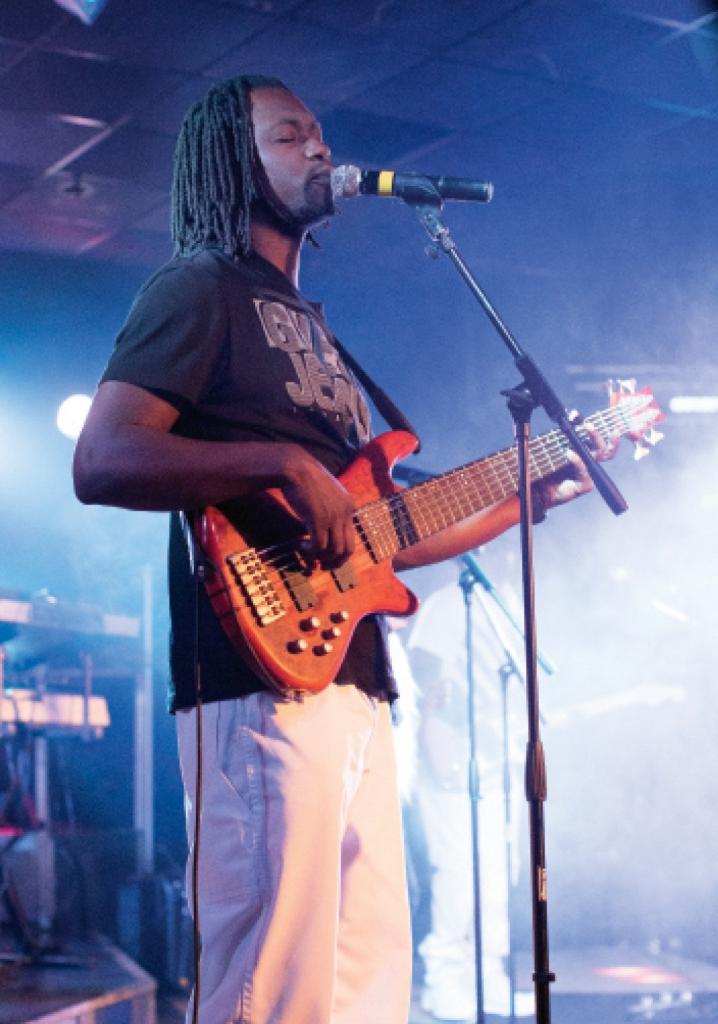Bassist Merrell Samuel