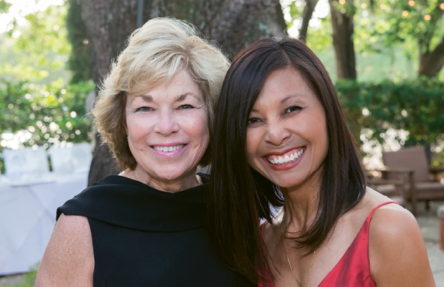 Christine Gerber and Caroline Millan