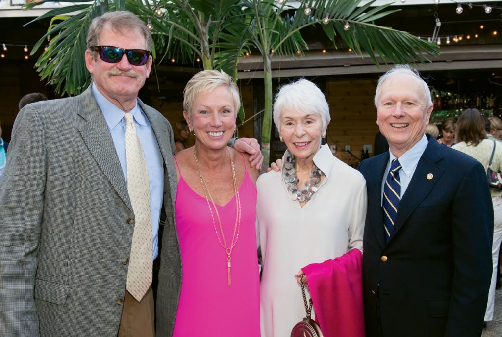 Cotton Williams, Meg Tarbox, Margaret Anne and Glennie Tarbox