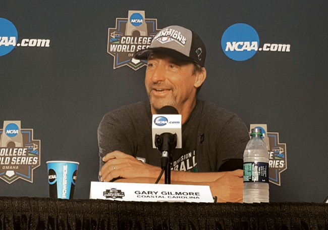 Emotions were high at the championship post-game press conference.