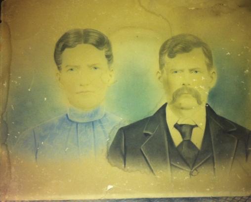 Georgia Burgess and Isaac Patrick