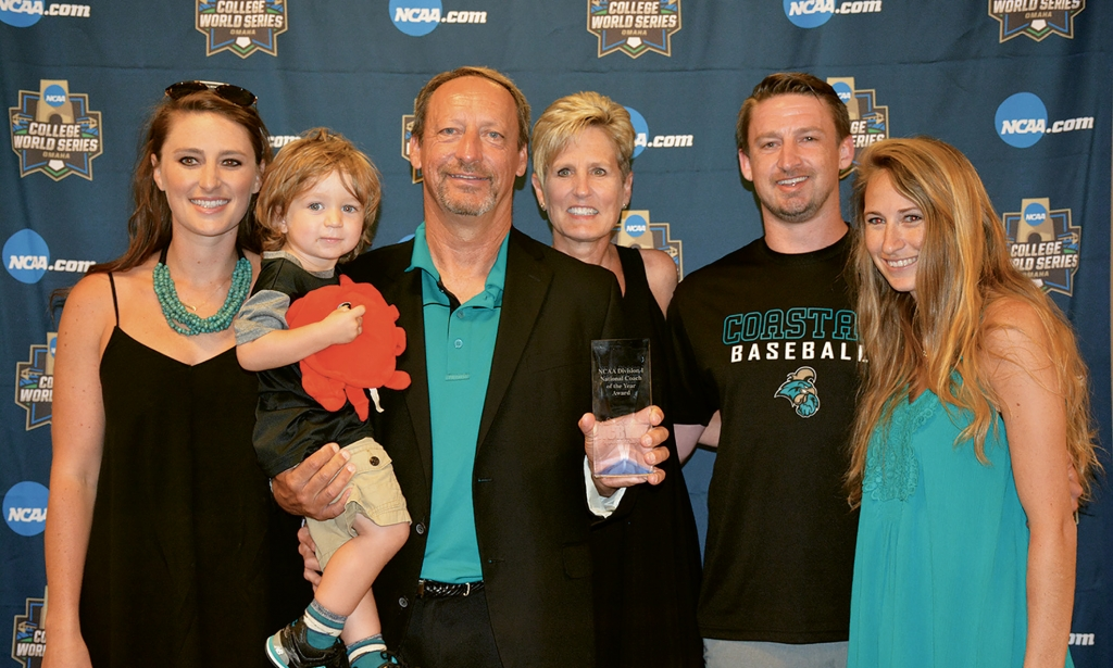 Not only is Gilmore the father of CCU baseball, but also a proud father of two, grandfather and husband. All Gilmores are CCU alumni.