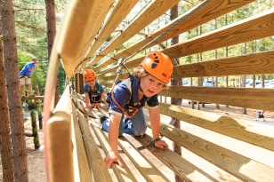 hrill-seekers of all ages will enjoy Go Ape! And Go Ape! Junior treetop adventures.