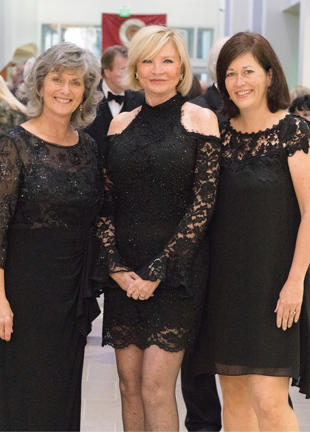Tammy Hardee, Marilyn Fore and Lee Mood