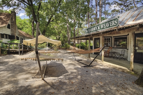 The Pawleys Island Hammock Shops are named after their most famous product.
