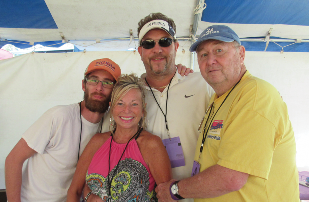 Christopher Jones, Melissa Decker, Mark Stoneking and Jim Brown