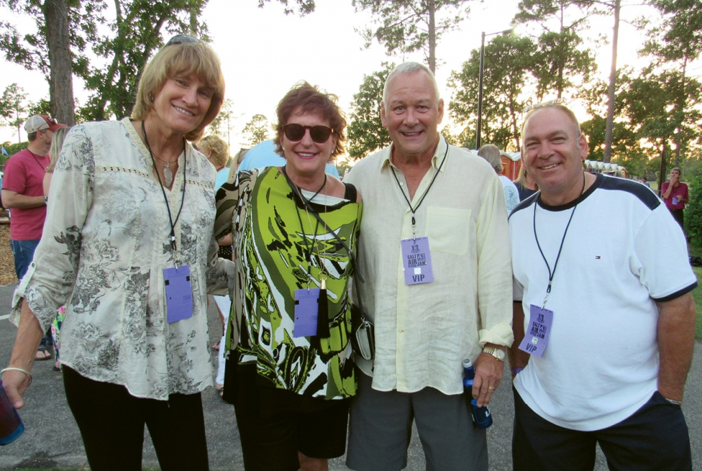 Margo Stilley, Susan Branstrom, Mark Branstrom and John Merolle