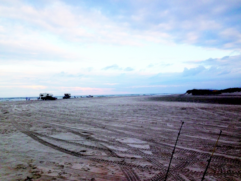 Hitting the sand takes a whole new meaning at Freeman Park on Wilmington's Carolina Beach. Drive your four-wheel drive vehicle right onto the beach and camp out under the stars and above the tide.