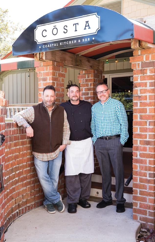 Jimmy Pronesti, Shawn Baxter and Harold Howell