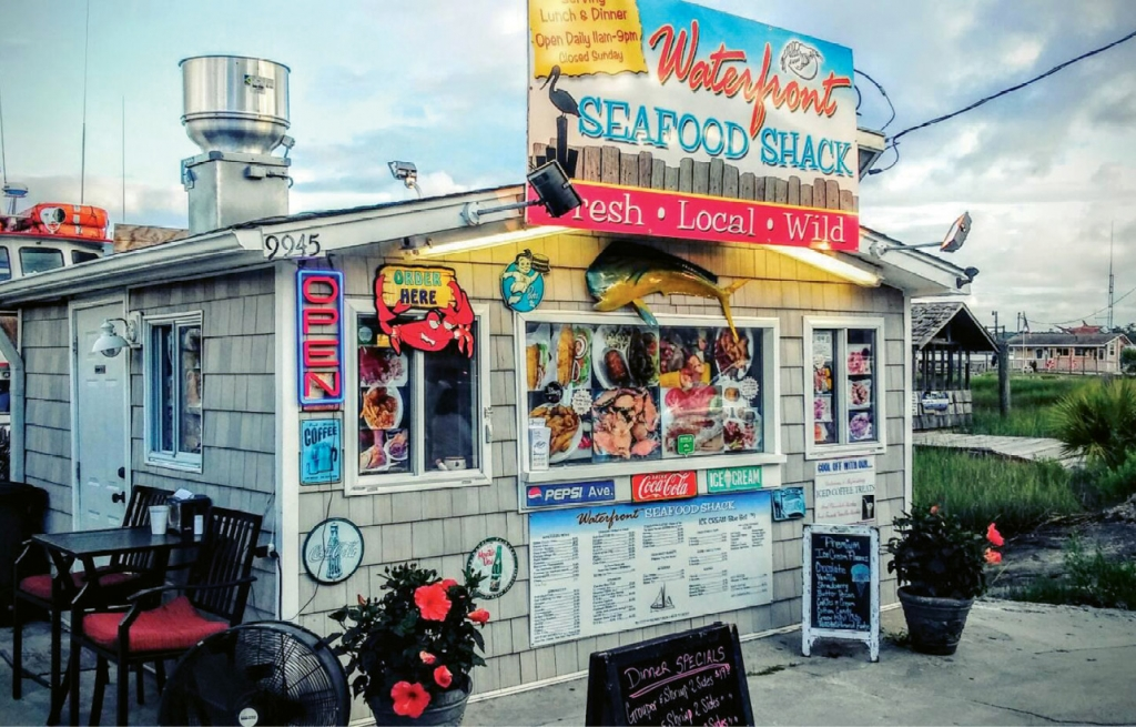 """Fresh. Local. Wild."" sums up the offerings at the Waterfront Seafood Shack Market & Eatery."