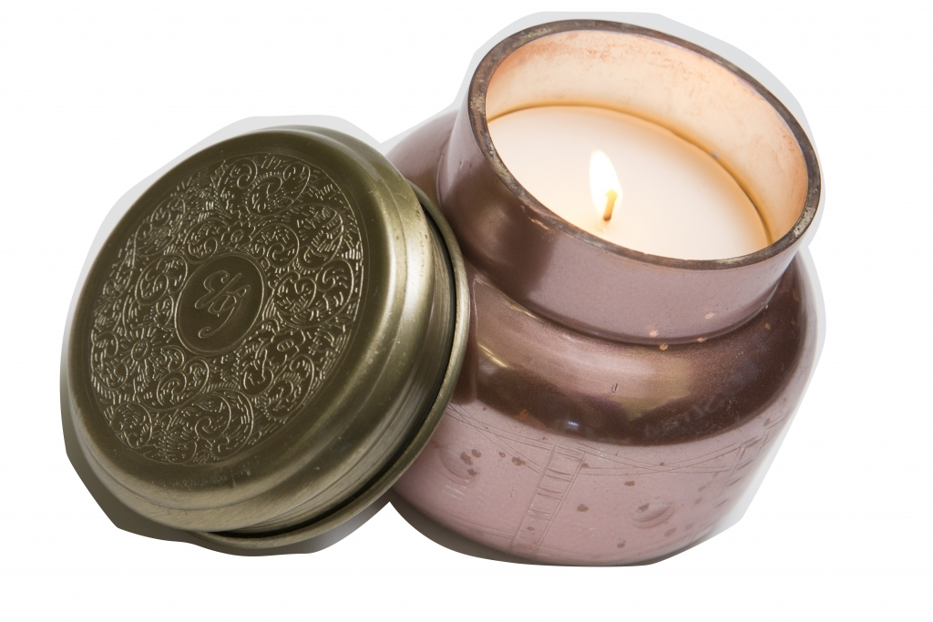 Coming up Rose Gold Fill your home with the lovely aroma of gardenias and figs with these  Capri Candles.  $28. Anthropologie, 3340 Reed St., The Market Common.  (843) 232-0719