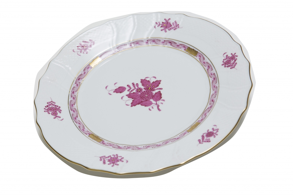Haute Plate Fine dining is at its best on this hand- painted gold leaf patterned china by Herend. $145. Barbara's Fine Gifts, 6914 N. Kings Highway, Myrtle Beach. (843) 449-0448
